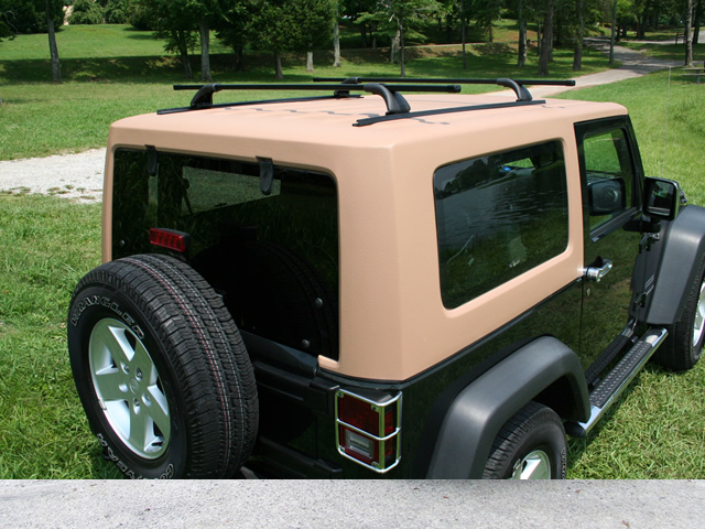 Jeep Wrangler One Piece Jk Hardtop